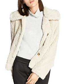 Sanctuary - Cropped Sherpa Jacket