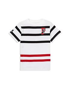 Ralph Lauren - Boys' P-Wing Striped Cotton Tee - Little Kid