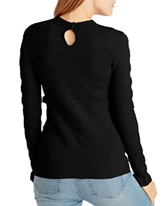 Ella Moss - Emma Ribbed Ruffled Sweater
