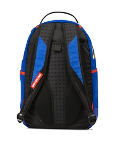 Sprayground - Faux-Suede Gold Shark Backpack