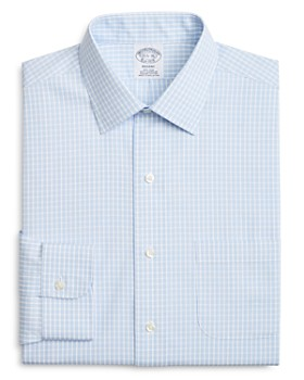 Brooks Brothers - Triple-Check Classic Fit Dress Shirt