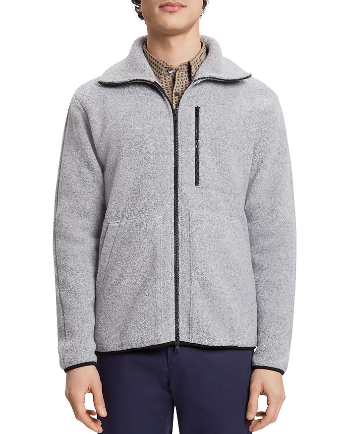 Theory - Textured Zip-Front Jacket