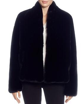 T Tahari - Faux-Fur Jacket