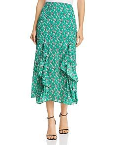The Fifth Label - Adventurer Printed Ruffled Midi Skirt