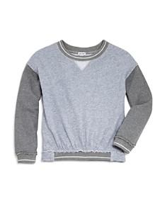 Splendid - Girls' Contrast French Terry Sweatshirt - Big Kid