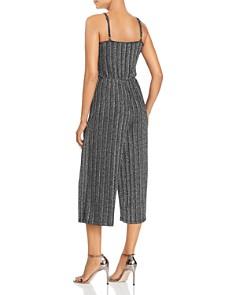 Vero Moda - Wiona Metallic Cropped Jumpsuit