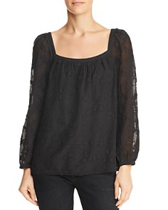 Rebecca Taylor - Kyla Embroidered Top
