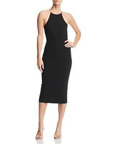 alexanderwang.t - Swim Jersey Crisscross Back Dress