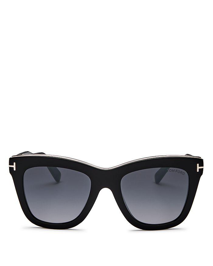 d8b266b7feb6 Tom Ford Women's Julie Square Sunglasses, 52mm | Bloomingdale's
