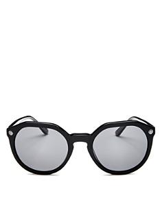 Tory Burch - Women's Polarized Geometric Sunglasses, 52mm