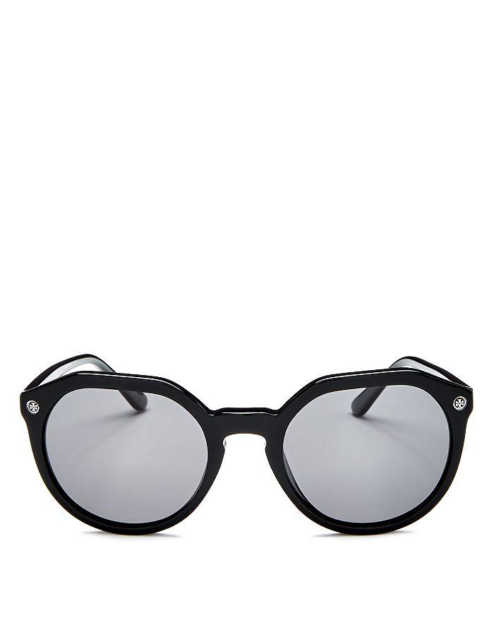 3cde89ee0b19 Tory Burch Women's Polarized Geometric Sunglasses, 52mm   Bloomingdale's