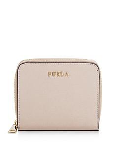 Furla - Babylon Small Leather Zip Wallet