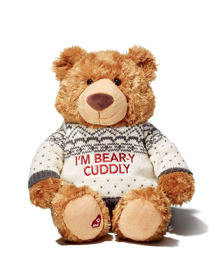 Gund - Holiday Little Brown Bear 2018 - Ages 1+