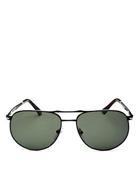 5894d6d13a Persol - Men s Sartoria Brow Bar Aviator Sunglasses