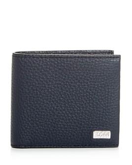 BOSS Hugo Boss - Crosstown Leather Bi-Fold Wallet