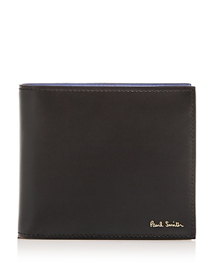 Paul Smith La-Print Interior Leather Bi-Fold Wallet