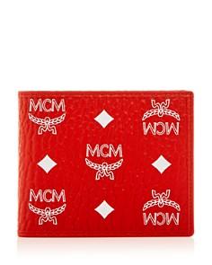 MCM - Visetos Logo Monogram Bi-Fold Wallet