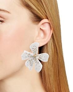 BAUBLEBAR - Perla Flower Drop Earrings