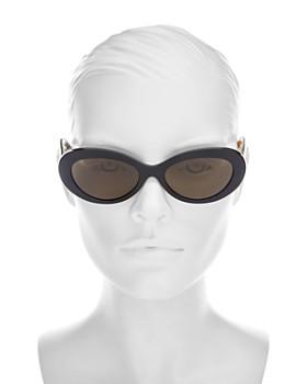 Burberry - Women's Oval Sunglasses, 54mm