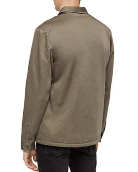 ALLSAINTS - Parris Faux-Shearling-Lined Regular Fit Shirt