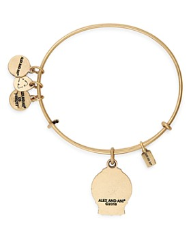Alex and Ani - Snow Globe Expandable Bracelet