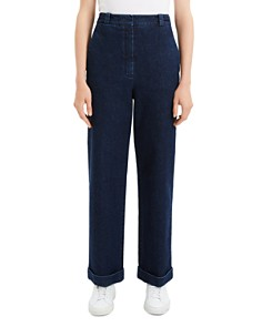 Theory - Cuffed Denim Pants