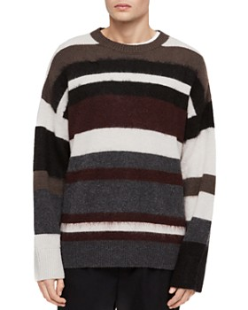 ALLSAINTS - Striley Striped Crewneck Sweater