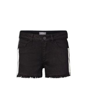 DL1961 Girls' Side-Stripe Cutoff Shorts - Big Kid