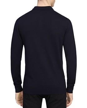 REISS - Trafford Merino Wool Polo Sweater