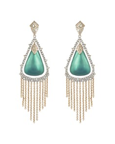 Alexis Bittar - Crystal Tassel Lucite Earrings