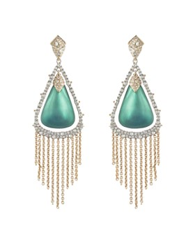 Alexis Bittar - Crystal Tassel Lucite Earrings