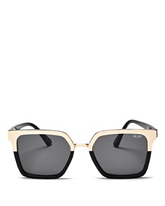 Quay - Women's Quay x Jaclyn Hill Upgrade Square Sunglasses, 55mm