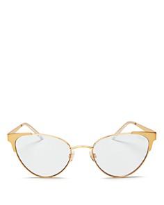 Quay - Women's Song Bird Cat Eye Blue Light Glasses, 45mm