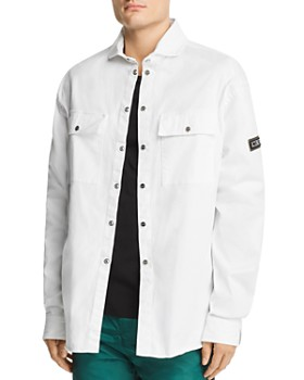 Iceberg - Embroidered Denim Shirt Jacket