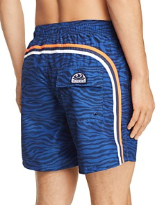 SUNDEK - Tiger-Print Swim Trunks