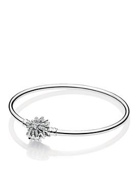 Pandora - Sterling Silver & Cubic Zirconia Fireworks Bangle Bracelet