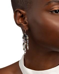 Alexis Bittar - Crystal Fringe Ombre Drop Earrings