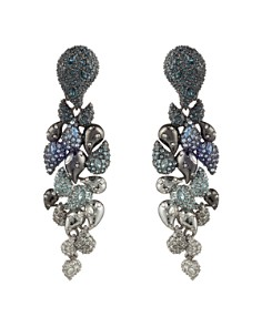 Alexis Bittar - Ombre Paisley Clip-On Earrings