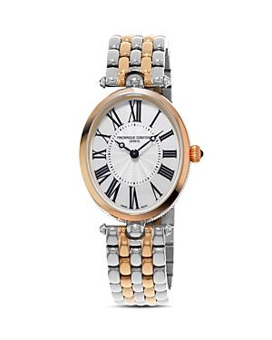 Frederique Constant Art Deco Oval Watch