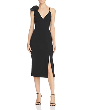 Rebecca Vallance LOVE BOW DETAIL SHEATH DRESS