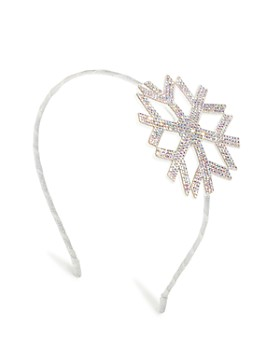GiGi - Girls' Embellished Snowflake Headband - 100% Exclusive