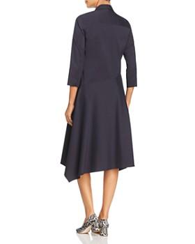 Lafayette 148 New York - Rizzo Asymmetric Midi Shirt Dress