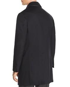Corneliani - Wool Twill Raincoat with Bib