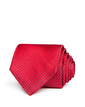 The Men's Store at Bloomingdale's - Textured Neat Silk Classic Tie - 100% Exclusive