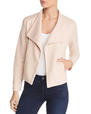 Calvin Klein Chevron Knit Open Front Jacket
