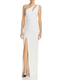LIKELY - Roxy One-Shoulder Gown