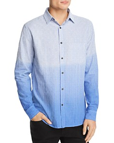 Sovereign Code - Capitola Textured Dip-Dyed Regular Fit Shirt
