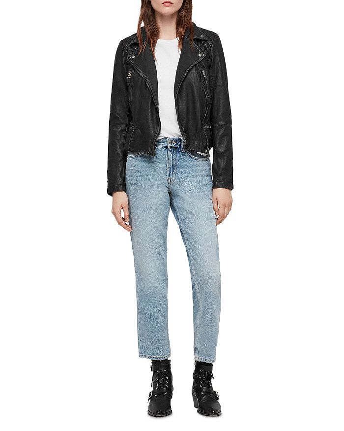b372969de68 ALLSAINTS - Cargo Quilted Leather Biker Jacket