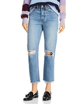 Levi's - Wedgie Straight Jeans in Uncovered Truth