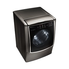 LG SIGNATURE - SIGNATURE Large Smart Wi-Fi-Enabled Electric Dryer with TurboSteam™ #DLEX9500K